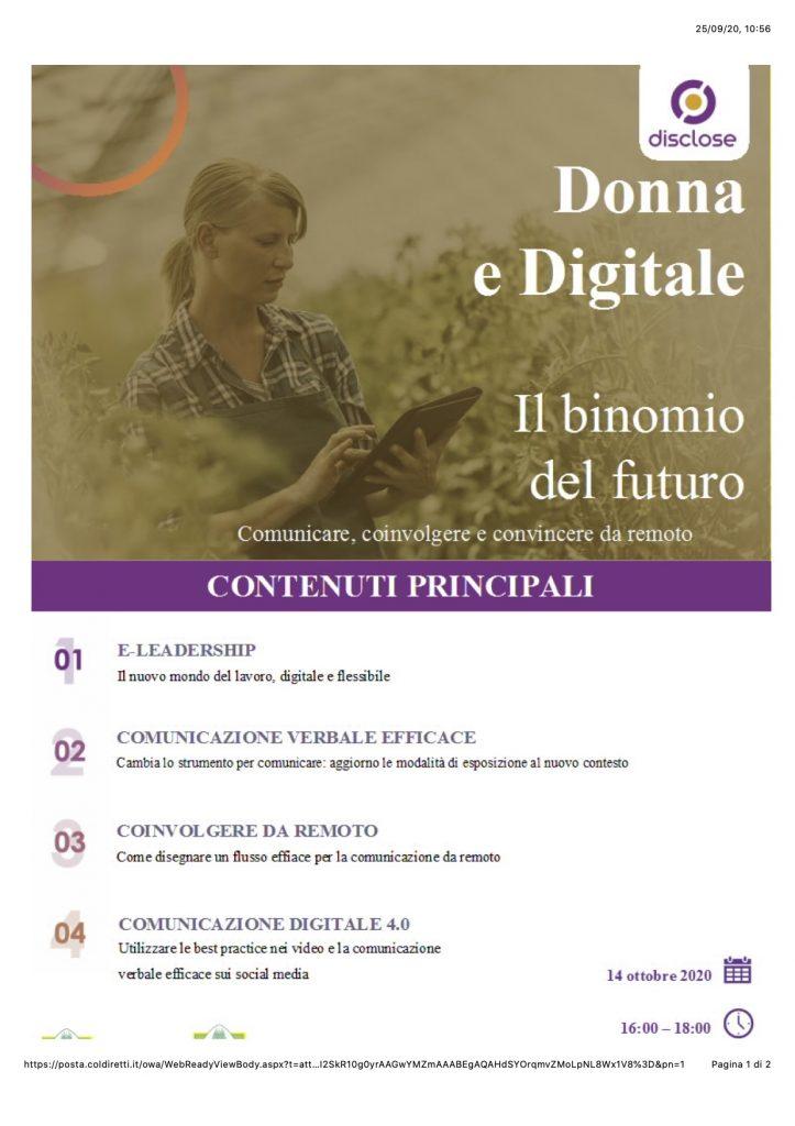 Donna e digitale